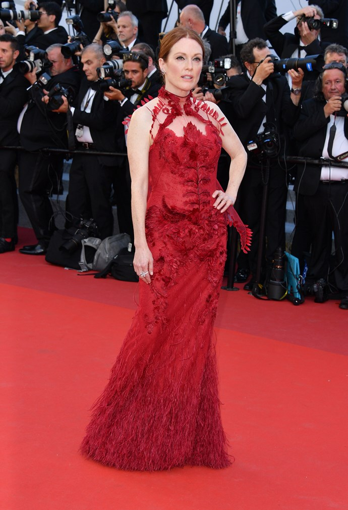Julianne Moore in Givenchy Couture.