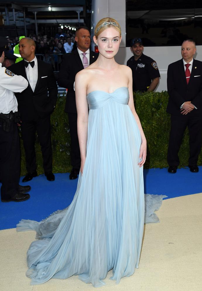 Of course, Elle's Met Gala dress was a sight to behold.
