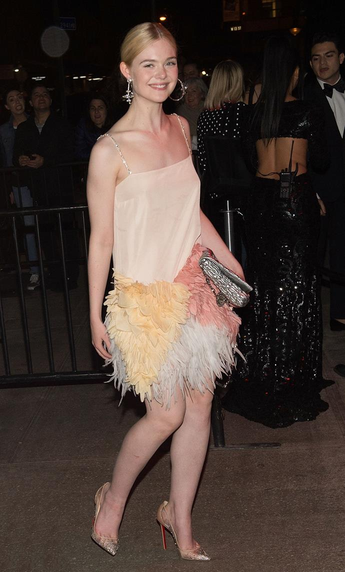 As was her after party look, which was perfection.
