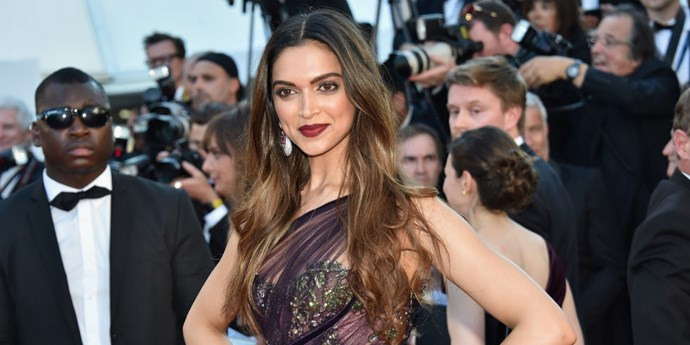 Deepika Padukone proved that if you're blessed with shiny extra-long tresses, you don't need to do much in the way of styling.    *Getty Images*