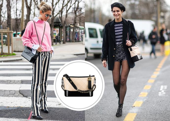 [Chanel Gabrielle large hobo bag](http://www.chanel.com/en_AU/fashion/products/handbags/g/s.chanel-s-gabrielle-large-hobo-bag-aged.17S.A93825Y61477C0204.sto.gab.html), $5,500.