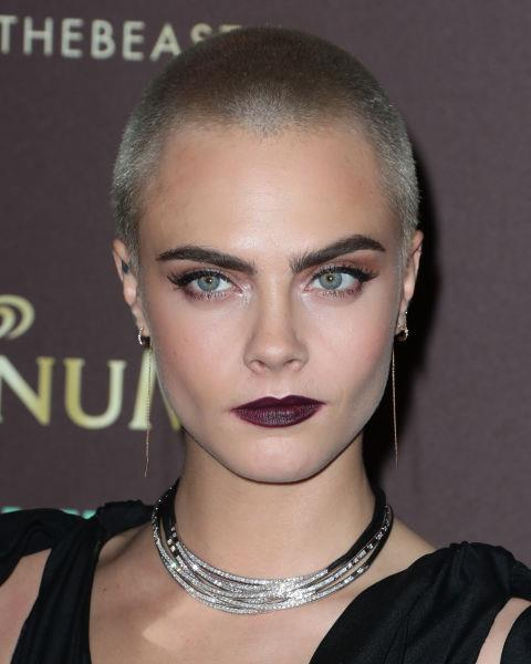 **NO.2 CARA DELEVINGNE**  Almost solely responsible for the return of eyebrows, Cara's bushy pair are in second place.