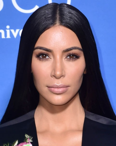 **NO.3 KIM KARDASHIAN**  Notice how Kim Kardashian's eyebrows are the exact same width from beginning to end - the secret to her super preened pair.