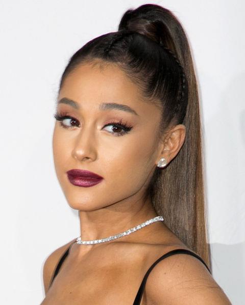 **NO.14 ARIANA GRANDE**  Ariana Grande's straight brows say 'I just woke up like this' in a good way.