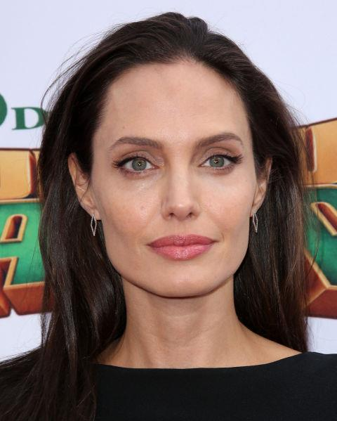 **NO.15 ANGELINA JOLIE**  Practically perfect in every way, and Angelina Jolie's eyebrows aren't letting her game down.
