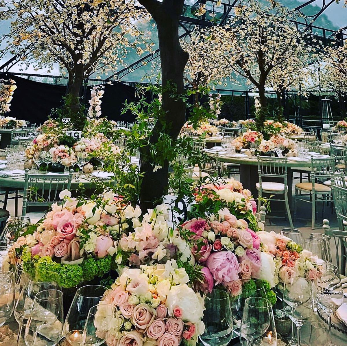 Celebrity Wedding Reception Decor: Inside Pippa Middleton's Floral Wedding Reception