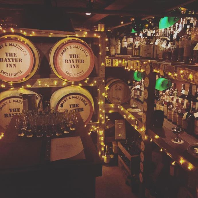 **The Baxter Inn**  Calling all whisky lovers: this underground cellar has pretty much all of the good stuff you could want.  [*152/156 Clarence Street, Sydney*](http://thebaxterinn.com/)  *Image: [@belenchipod](https://www.instagram.com/p/BUg21ikhrJR/)*