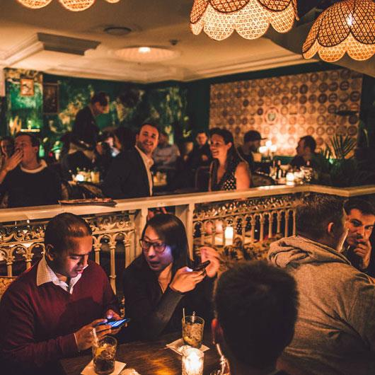 **The Lobo Plantation**  Lobo is furnished with roomy leather booths and vintage furniture, so it feels like you've stepped back in time.  [*209 Clarence Street, Sydney*](http://thelobo.com.au/)