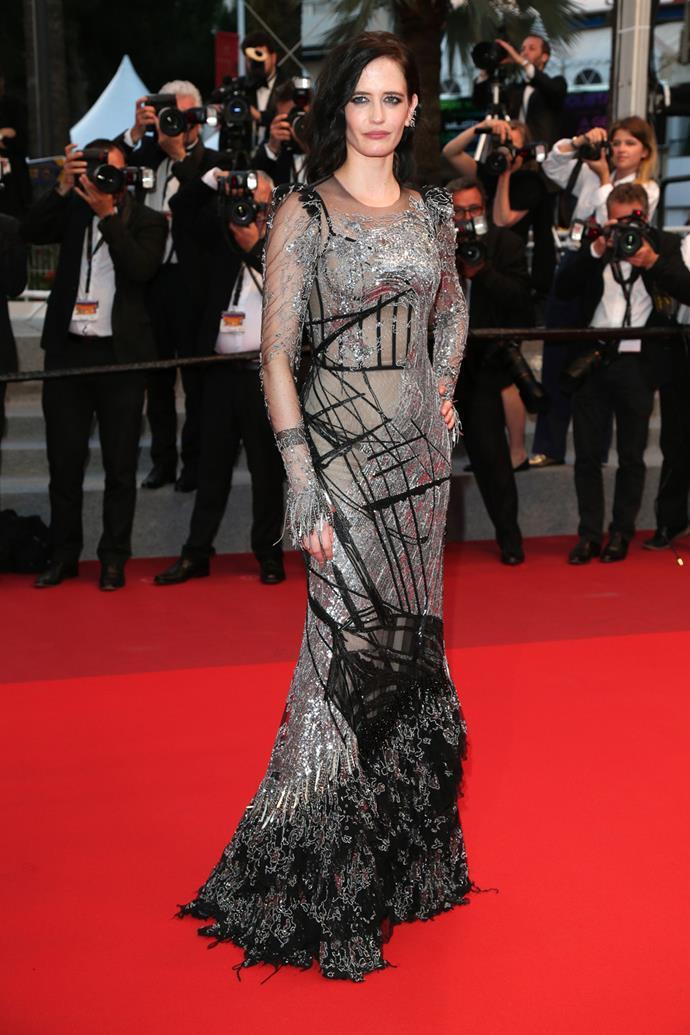 Eva Green in Alexander McQueen