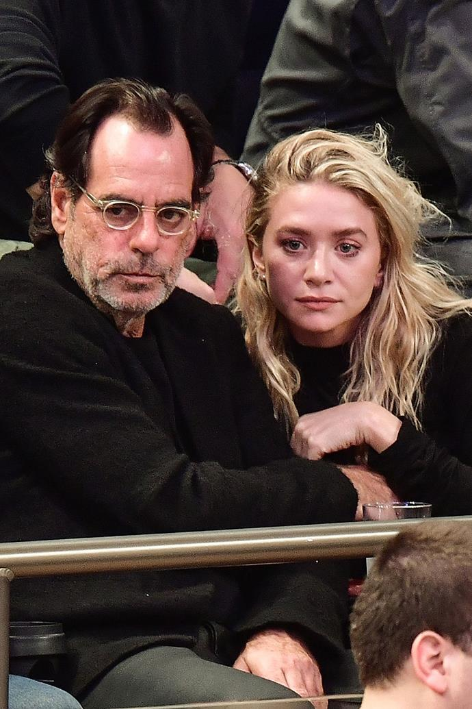 **Ashley Olsen and Richard Sachs**  Ashley and her much older financier boyfriend (he's 58) called it quits in March, after just five months together.