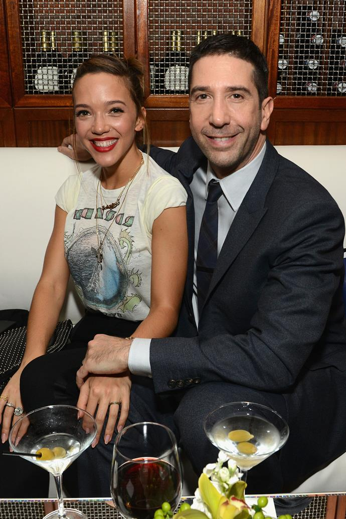 "**David Schwimmer and Zoe Buckman**  The couple, who have a five-year-old daughter named Cleo, told [*Us Weekly*](http://www.usmagazine.com/celebrity-news/news/david-schwimmer-wife-zoe-buckman-taking-some-time-apart-w475045) in a statement in April: ""It is with great love, respect and friendship that we have decided to take some time apart while we determine the future of our relationship. Our priority is, of course, our daughter's happiness and well being during this challenging time, and so we ask for your support and respect for our privacy as we continue to raise her together and navigate this new chapter for our family."""