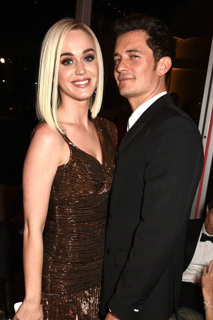 "**Orlando Bloom and Katy Perry**  Just days after being spotted at the same Oscars party, reps for Orlando and Katy released the statement: ""Before rumours or falsifications get out of hand, we can confirm that Orlando and Katy are taking respectful, loving space at this time."" [They dated](http://www.elle.com.au/celebrity/katy-perry-tweets-about-split-with-orlando-bloom-5581) from January 2016 to February this year."
