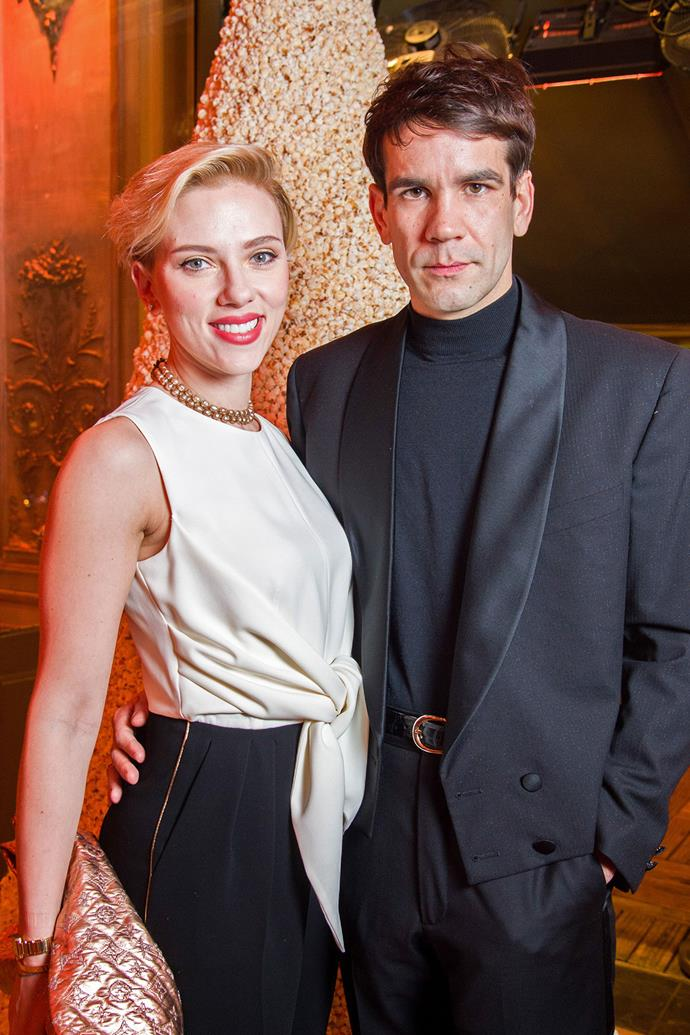 **Scarlett Johansson and Romain Dauriac**  When Scarlett delivered a moving speech during the Women's March on Washington earlier this year, people noticed that she wasn't wearing her wedding ring. Soon after, it was confirmed that [Scarlett and Romain had split](http://www.elle.com.au/celebrity/scarlett-johansson-divorce-romain-dauriac-5491). They were married in 2014 and have one daughter together, Rose.
