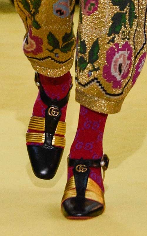 **3. Gucci-fied Mary Janes**
