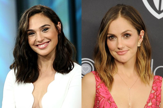 Gal Gadot and Minka Kelly.