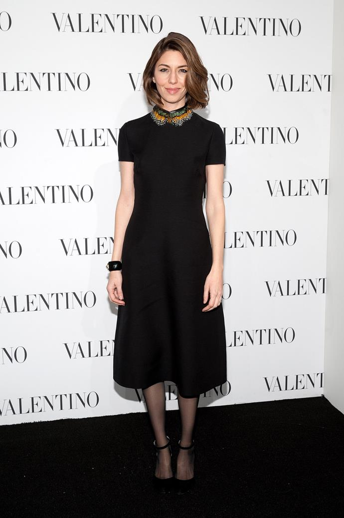 At a Valentino event in 2014.