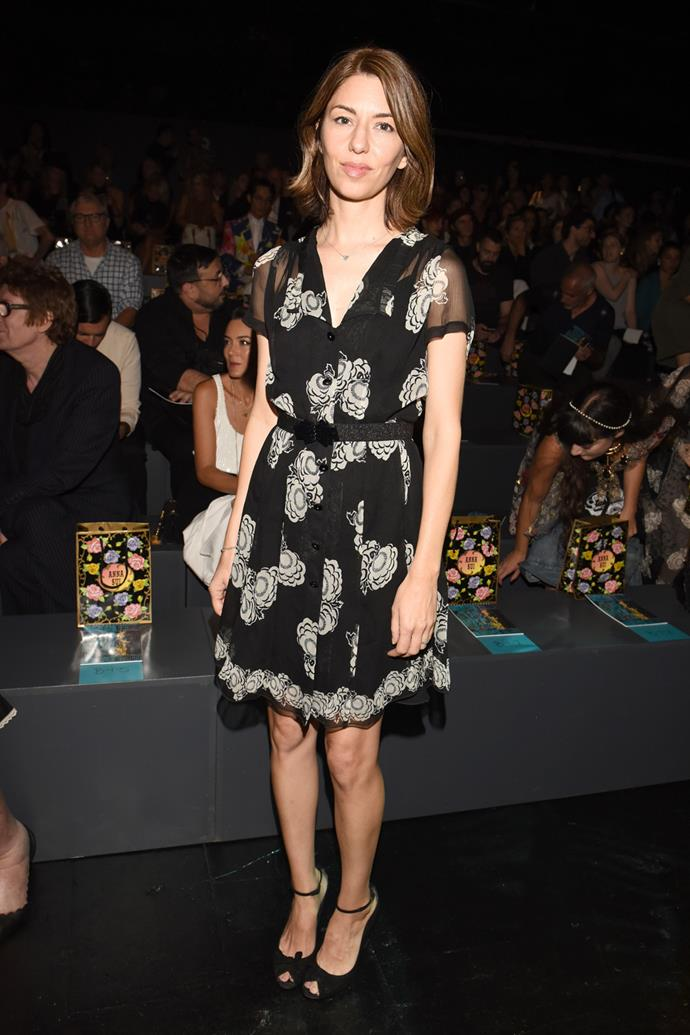At Anna Sui's spring 2016 show.
