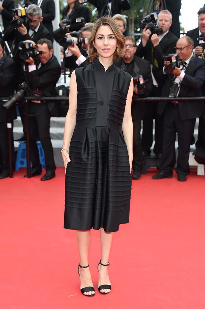 At the *Saint Laurent* premiere at the 2014 Cannes Film Festival.