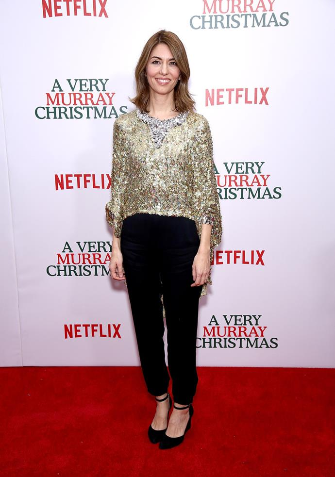 At the NYC premiere of *A Very Murray Christmas* in 2015.