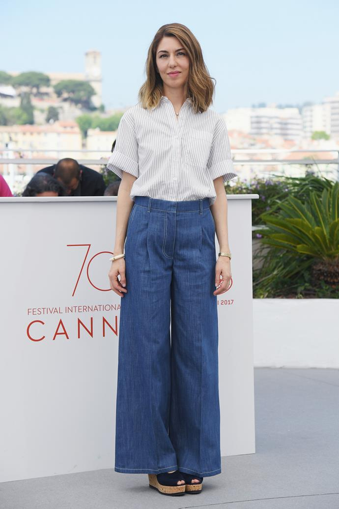 At the photocall for *The Beguiled* at the 2017 Cannes Film Festival.