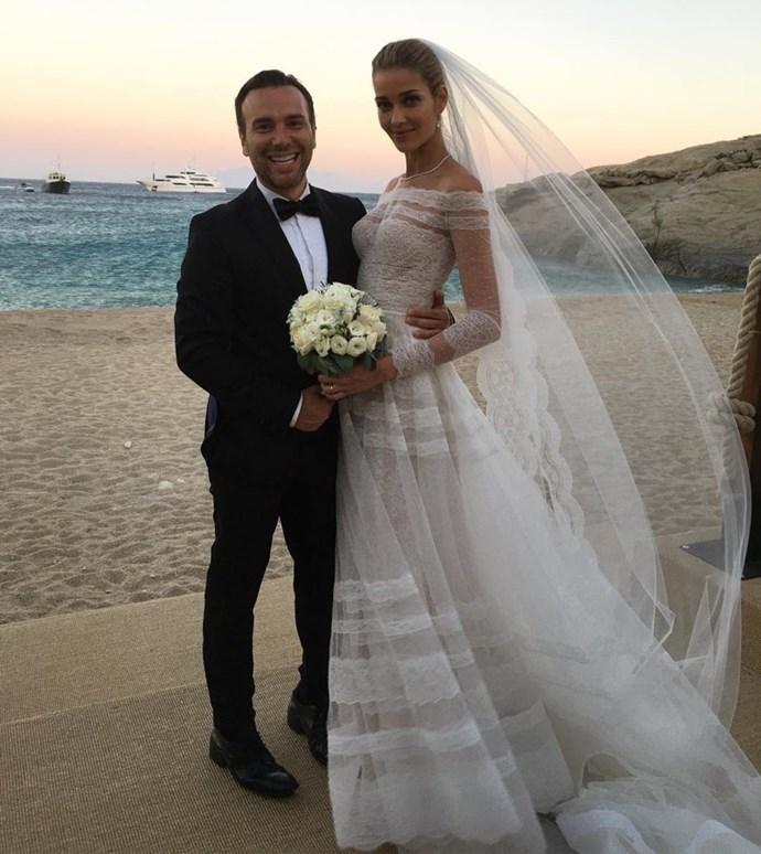 **Ana Beatriz Barros** <br><br> Married: Karim El Chiaty <br><br> Wearing: Valentino