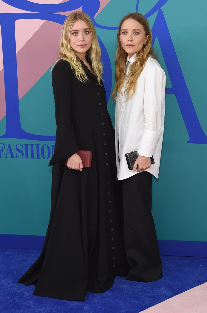 Mary-Kate and Ashley Olsen in The Row.