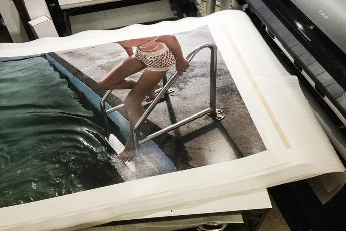 """""""My favourite print from my UNSEEN exhibition, sold and off for mounting, then to a new home."""""""