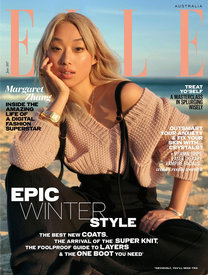 The June issue of *ELLE* Australia is on sale now.