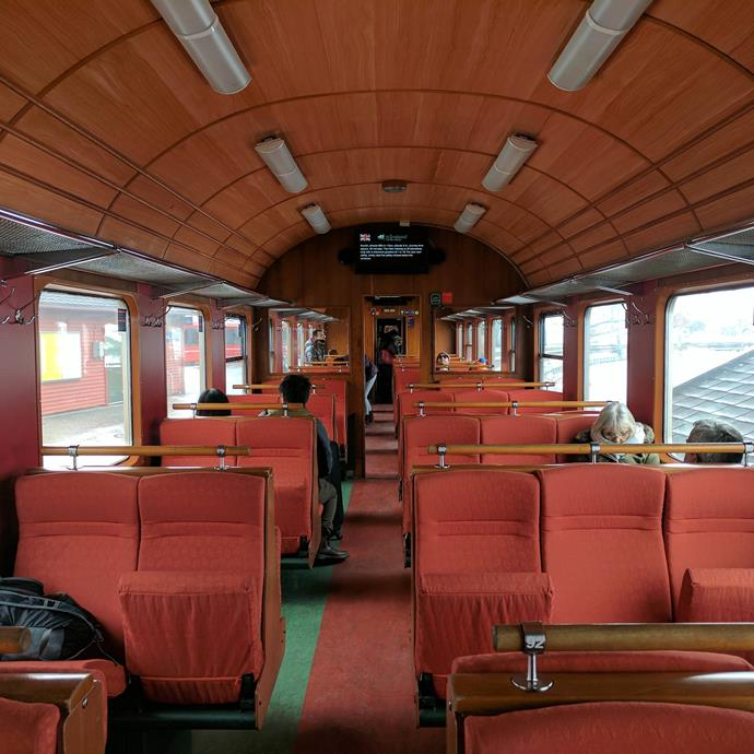 This train in Norway.
