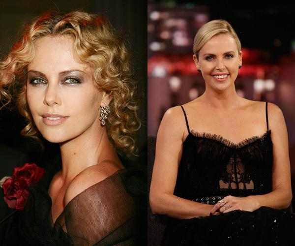 **Charlize Theron**  Theron spent a brief time modelling in Europe and dancing in New York before moving to Hollywood to try her luck at acting.