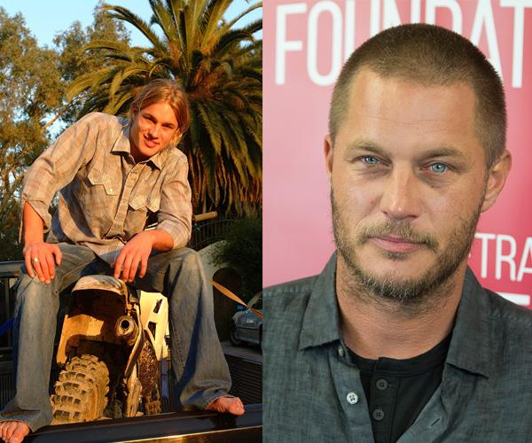 **Travis Fimmel**  Aussie Actor Travis Fimmel, became a Calvin Klein underwear model in 2002, when he was 22 years old.  He landed his first leading role in 2003 in TV series *Tarzan*, and is now best known for his lead role as Ragnar Lothbrok in the TV series *Vikings*.