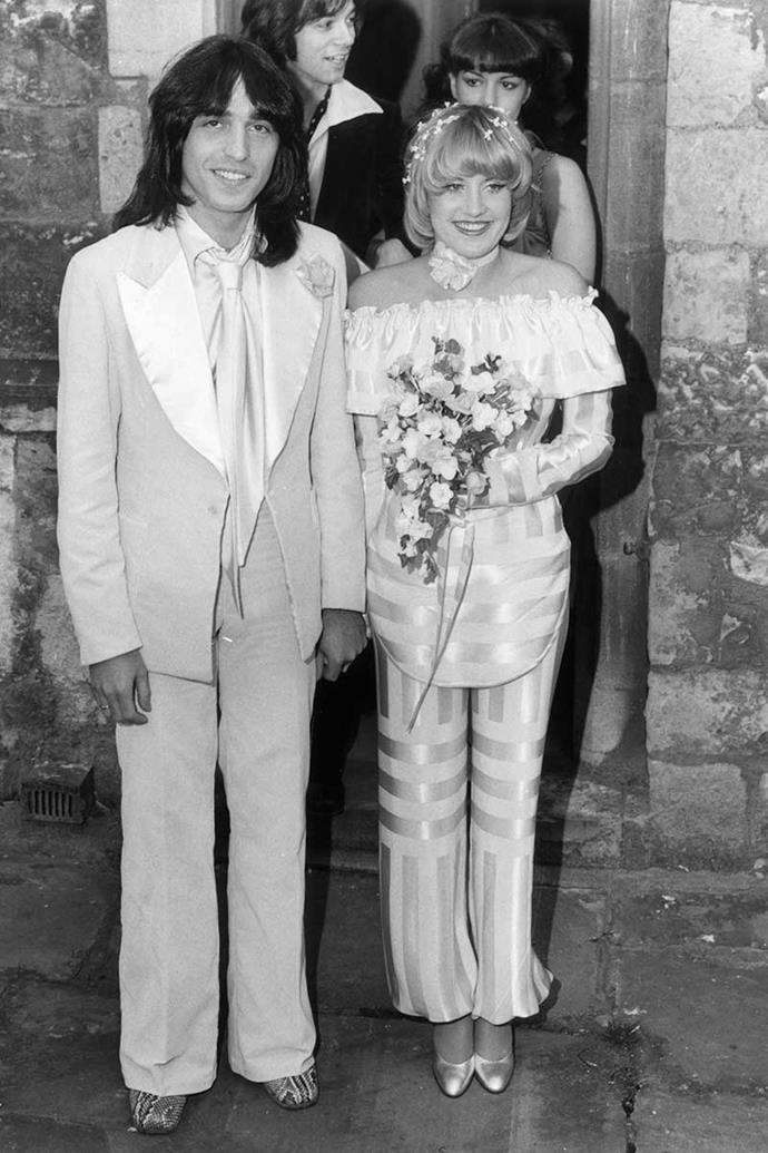 Lorna Luft and Jake Hooker, 1977