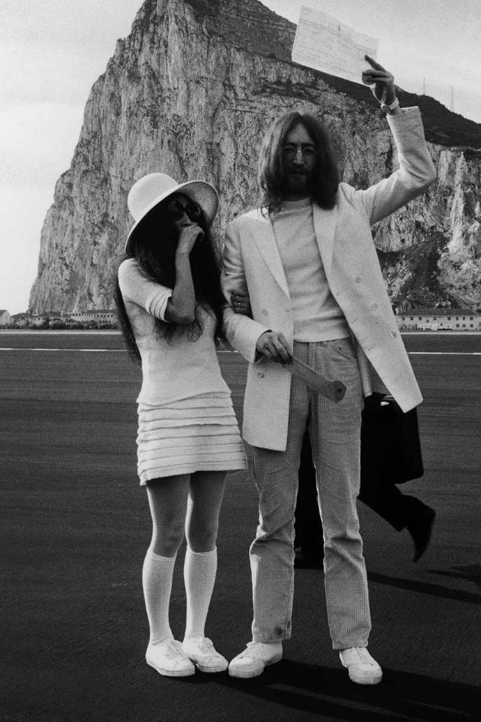 Yoko Ono and John Lennon, 1969