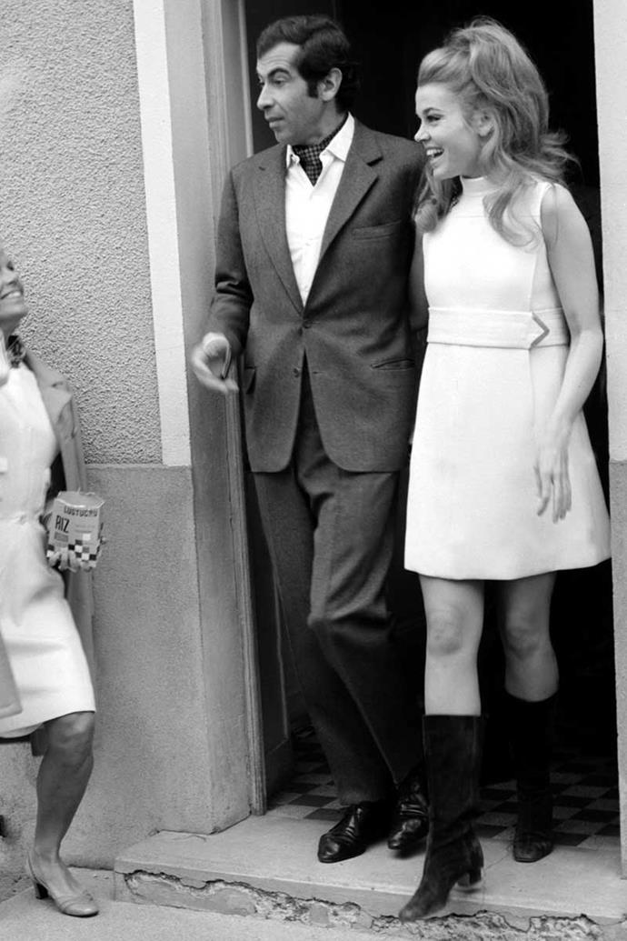 Jane Fonda and Roger Vadim, 1967