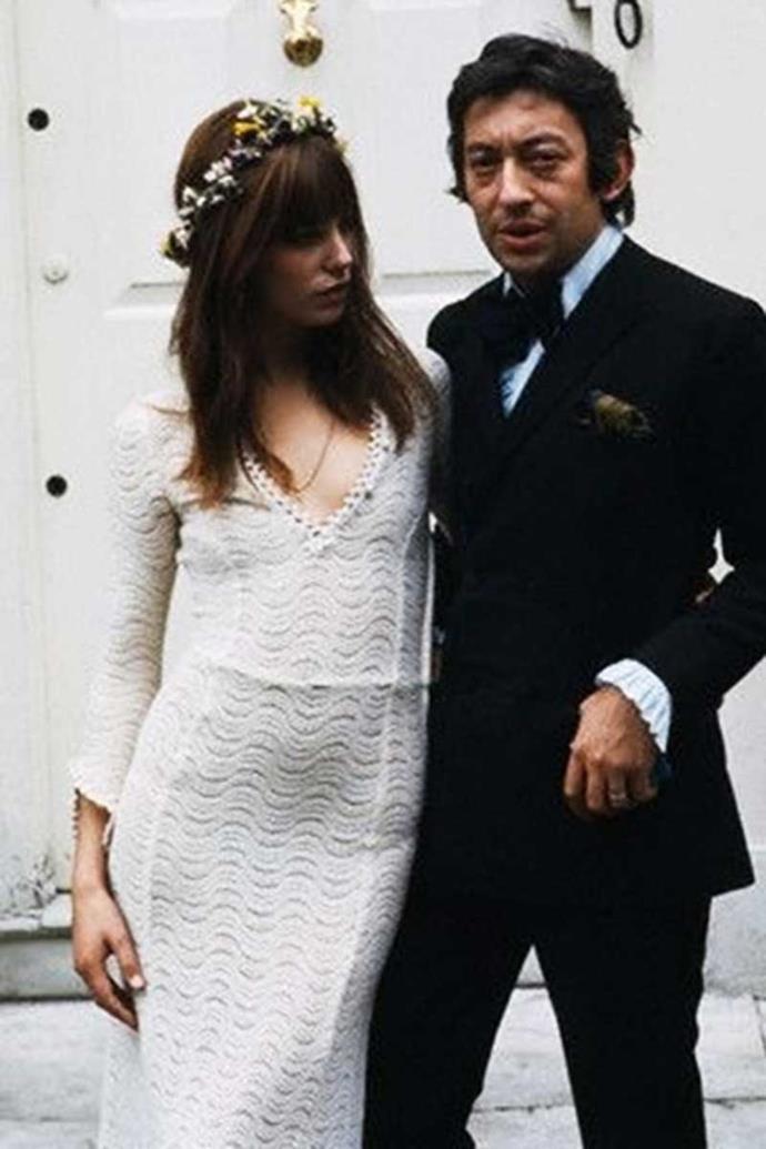 Jane Birkin and Serge Gainbourg