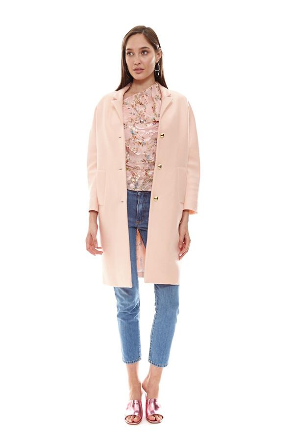 "**A Pale Pink Pea Coat:**  Inject a little light into your winter wardrobe with a thigh-length coat in this season's favourite hue. Coat, $925, Macgraw at [Désordre](http://www.desordrestore.com/femme/buy-now/by-style/Jackets/loyalty-pink-coat|target=""_blank""