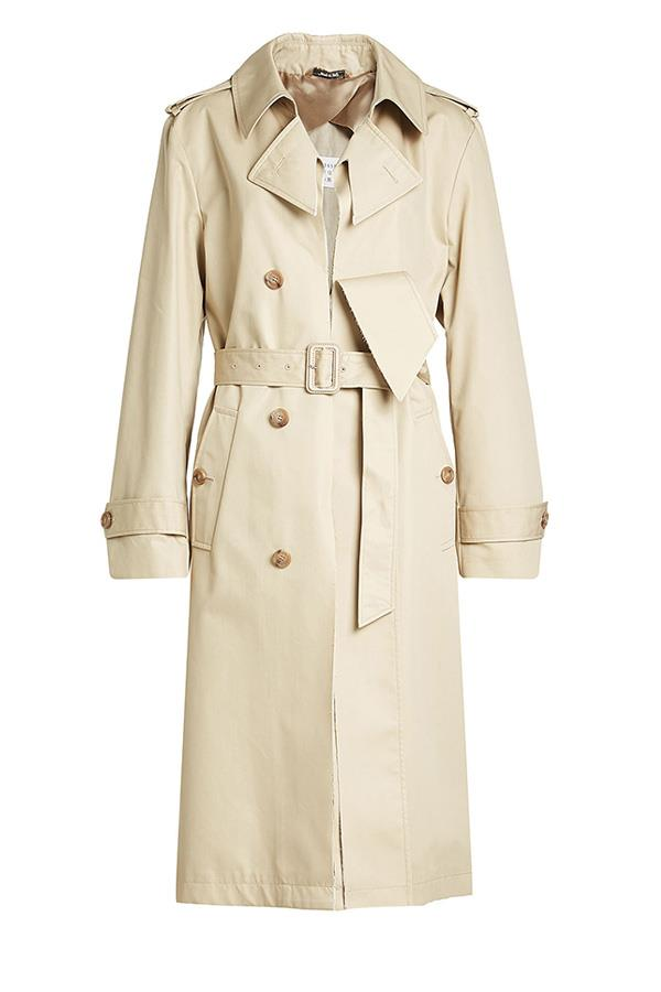 "**A Deconstructed Trench:**  A classic trenchcoat will always be a stylish winter option, but this season the best trenches have been reworked. Coat, $1,360, Margiela at [Stylebop](https://www.stylebop.com/en-au/women/cottonblend-trench-coat-261968.html|target=""_blank""