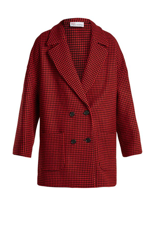 "**A Manstyle Overcoat:**  A wide-cut, mannish coat in this season's pattern-of-choice, hound's tooth, is an easy way to trick-up everything you already own. Coat, $692, Red Valentino at [MatchesFashion](http://www.matchesfashion.com/au/products/REDValentino-Double-breasted-hound%27s-tooth-wool-blend-coat-1168125|target=""_blank""