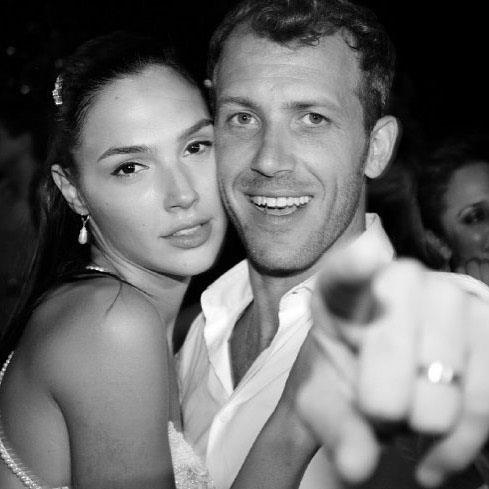 Another flashback—could this be from [Gal and Jaron's wedding](https://www.instagram.com/p/-CNm5YubYQ/)?