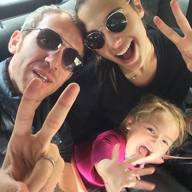 Jaron shared this [family selfie](https://www.instagram.com/p/tVD3KLDrKL/) from 2015.