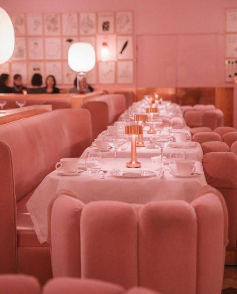 "**Sketch London**   Located in the city's Mayfair district, Sketch London is an Instagrammer's dream. Decked out in millennial pink, this destination gives off distinct *Alice in Wonderland* vibes.   [*@SketchLondon*](https://www.instagram.com/sketchlondon/|target=""_blank"")"