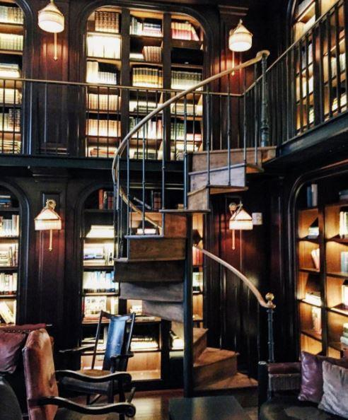 "**The Library Bar at NoMad Hotel, New York**   Make yourself comfortable and get snap happy at The Library Bar in New York.    [*@TheNomadHotel*](https://www.instagram.com/thenomadhotel/|target=""_blank"")"