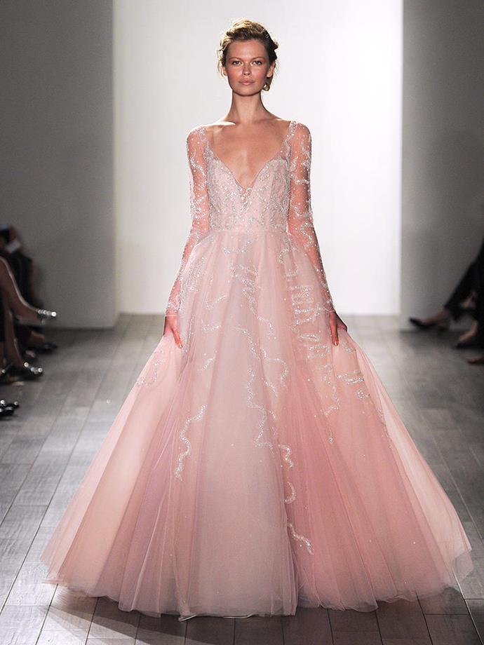 Image: [Pinterest](https://www.theknot.com/content/blush-pink-wedding-dresses)