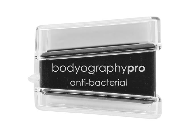 The Bodyography Anti-Bacterial Pencil Sharpener, $11, at [Bodyography](http://bodyography.com/product/anti-bacterial-pencil-sharpener/).