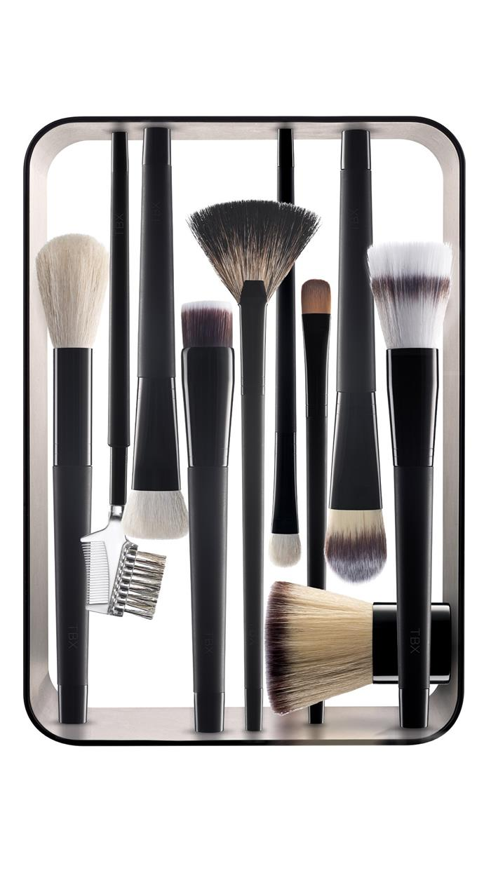 TBX The Complete Magnetic Makeup Brush Collection, $174.62, at [The Beauty Exchange](https://www.thebeautyexchange.com/makeup-brushes/the-complete-magnetic-makeup-brush-collection-802400.html).