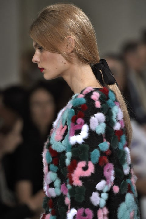 **BRING BACK THE PONY**  Jamie Stevens–who has styled hair for the likes of Kylie Minogue, Elle Macpherson and Eva Herzigova–predicts the ponytail is making a comeback in 2017.  'There really is one for everyone. Try tying it with a loose ribbon for a pretty touch. Combining cool accessories with a ponytail gives you limitless combinations that work for any occasion,' he says.  Jamie's top tip?  'Tilt your head when brushing into a ponytail and secure to ensure the underneath of your ponytail is tight. Many people automatically tip their hair forward but this will cause a saggy bottom. When your hair is secured, spray hairspray onto your brush and smooth it over to banish flyaways,' he advises.
