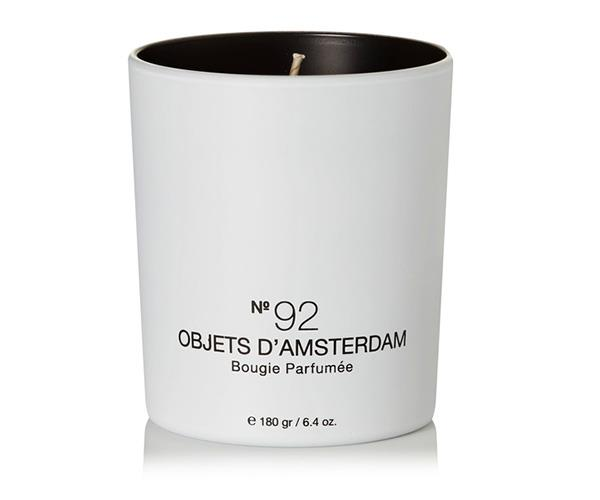 Marie-Stella Maris No.92 Objets d' Amsterdam Scented Candle,$59.38, at [Net-A-Porter](https://www.net-a-porter.com/au/en/product/948352/marie_stella_maris/no-92-objets-d--amsterdam-scented-candle--180g).