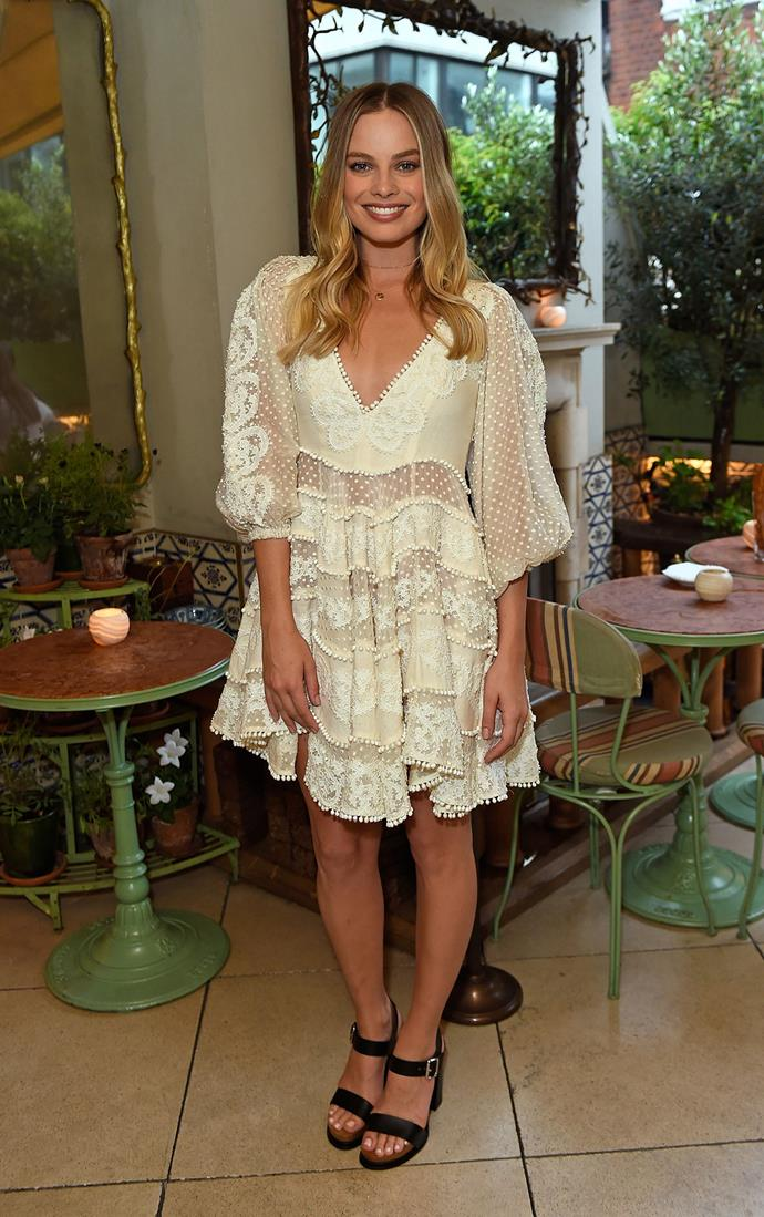 Margot at the opening of the Zimmermann London flagship store.