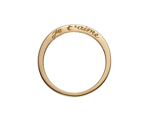 **Je T'aime Ring, $514 approx., [Nora Kogan](https://norakogan.com/collections/rings/products/je-taime)** <br> <br> Based in NYC, jewellery designer Nora Kogan uses recycled fine metals and ethically sourced stones, as well as inspirations from her many travels, to create designs that will outlive trends. <br> <br> The 14k gold 'Je T'aime' is a perfect choice for those who are after a ring that is super subtle but still carries the message of love as all wedding bands should.
