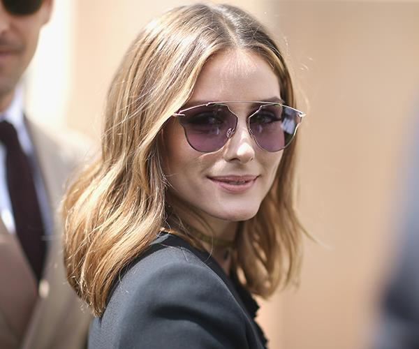 Olivia Palermo, the queen of the nonchalant lob.